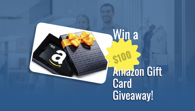 Win a $100 Amazon Gift Card Giveaway