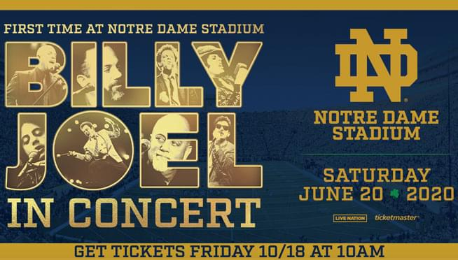 Win tickets to see Billy Joel!