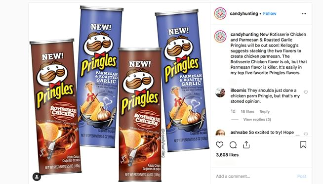 Rotisserie Chicken-flavored Pringles coming soon