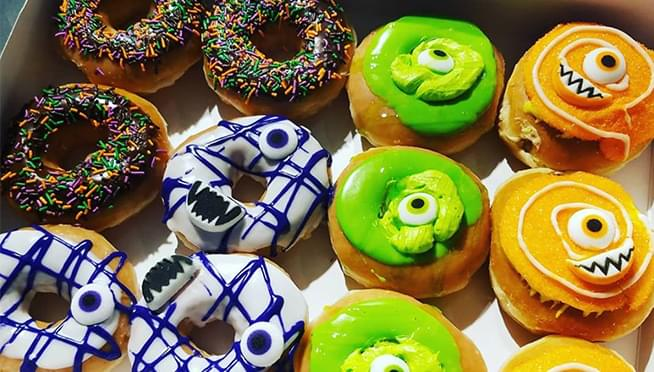 Krispy Kreme is giving away FREE donuts on Halloween to anyone who shows up in costume