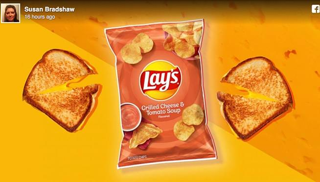 Lay's Grilled Cheese and Tomato Soup-Flavored Potato Chips coming soon