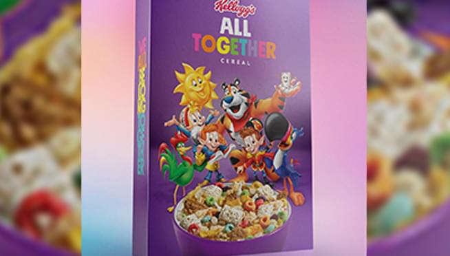 Kellogg's is selling boxes of six cereals all mixed together TODAY ONLY