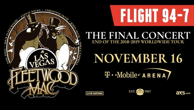 Flight 94-7: Fleetwood Mac in Las Vegas