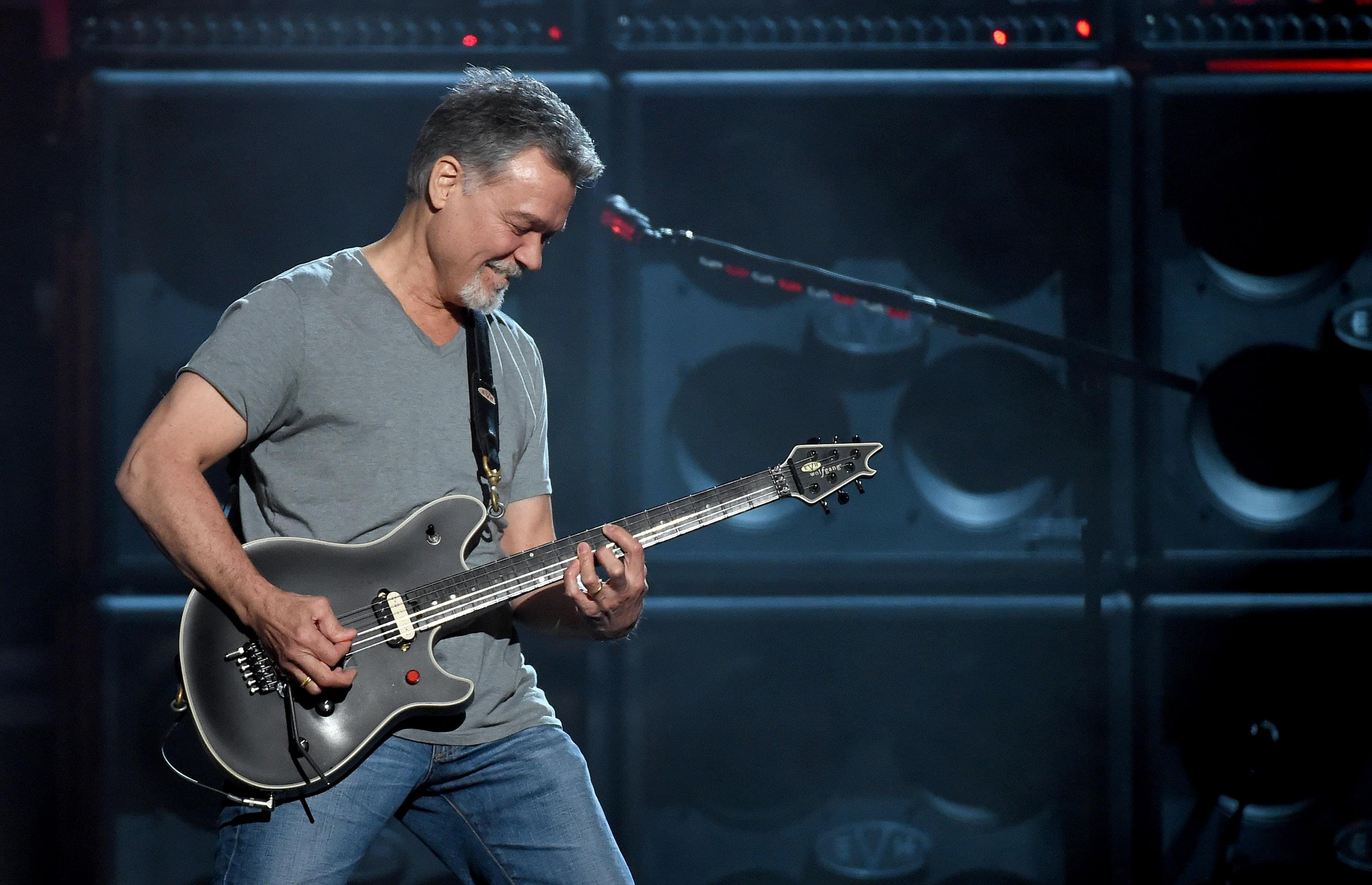 UPDATE: Eddie Van Halen appears happy and fit in new social media post