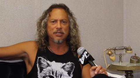 Loop 40: Tim Virgin with Kirk from Metallica
