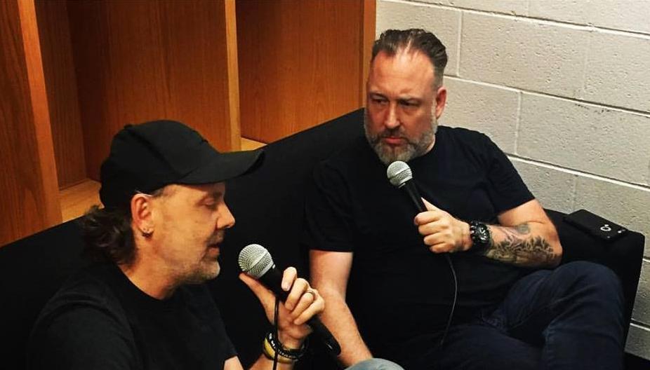 Metallica: Tim Virgin's backstage interview with Lars Ulrich