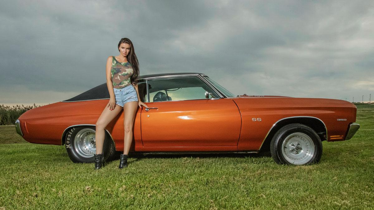 Rockin' Rides | Virgin's '70 Orange Chevelle