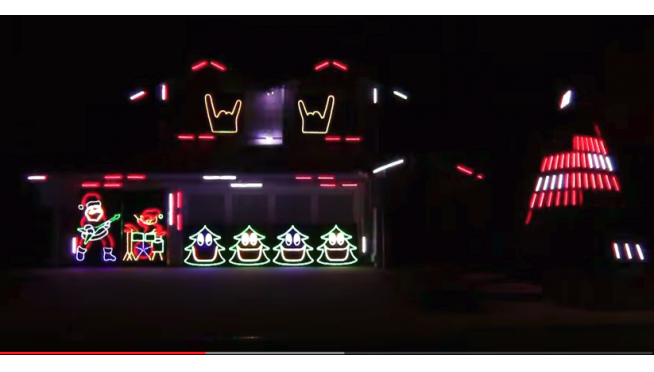 Merry Metallica! Metallica Christmas Lights