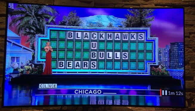 'Wheel of Fortune' forgets about White Sox