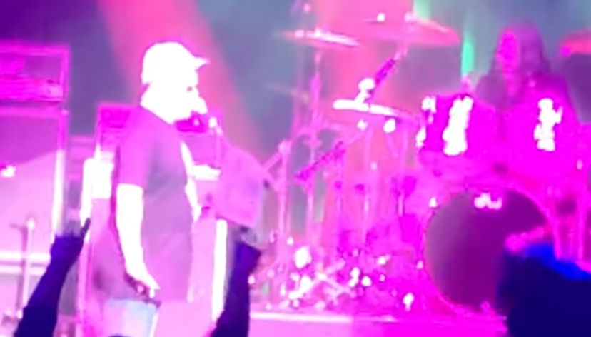 Kiss fan sings 'Calling Dr. Love' on stage with the band