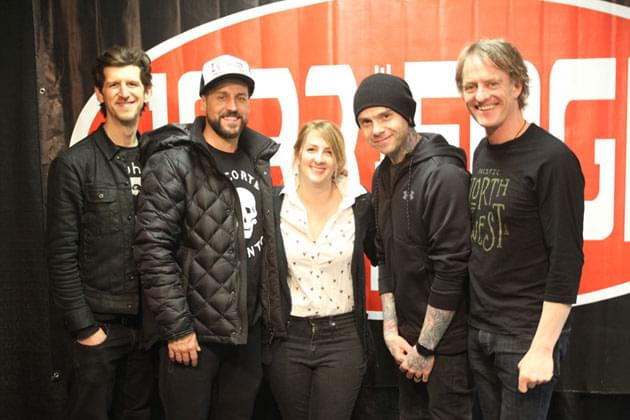 PHOTOS: Edge Sessions Meet & Greet with Our Lady Peace
