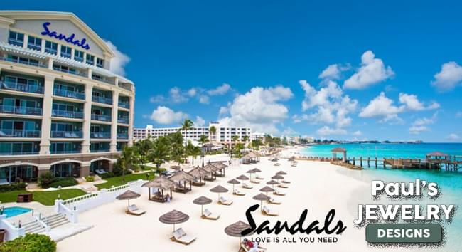 Let's Get Engaged Contest with Sandals Resorts and Paul's Jewelry Designs