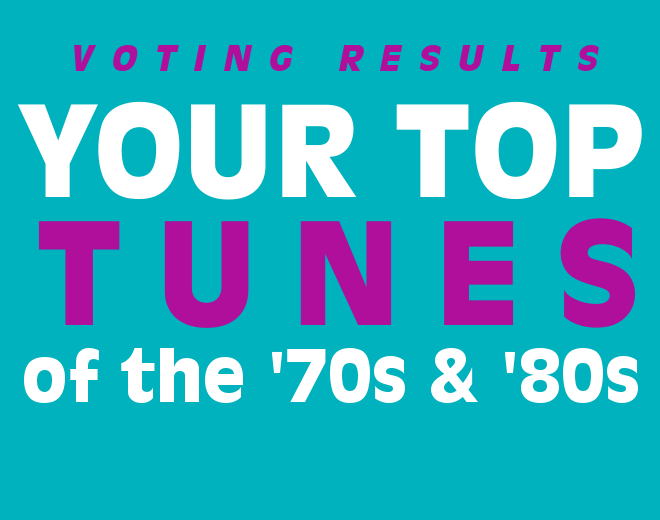Voting Results: Your Top Songs of '70s and '80s