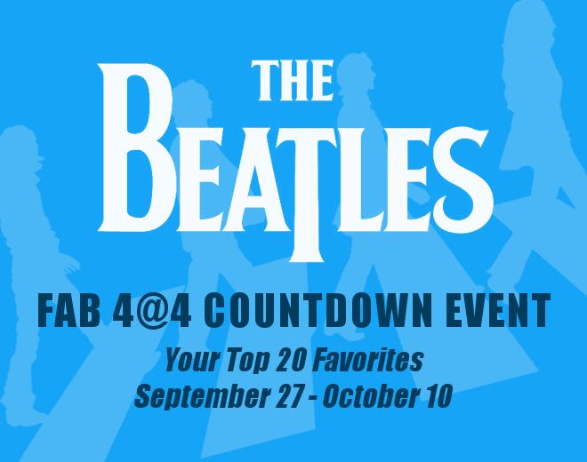 Your Favorite Beatles Songs Countdown