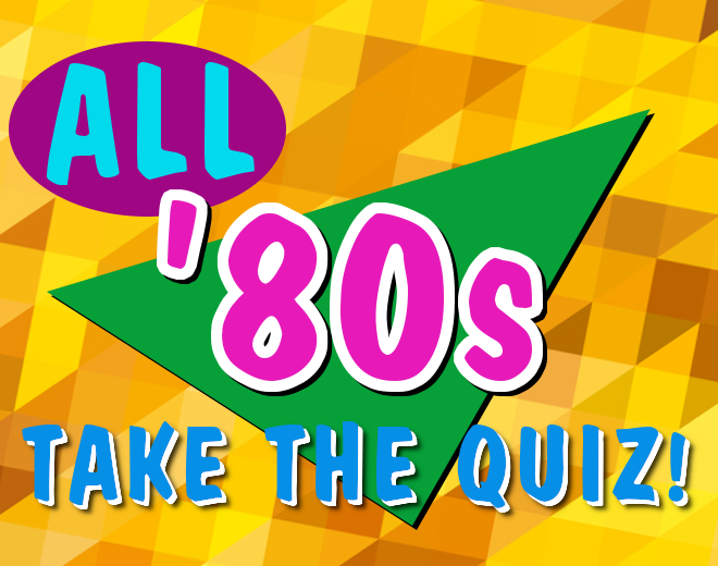 80s Music, TV and Movies Quiz