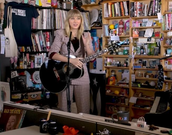 Tiny Desk Concert Taylor Swift