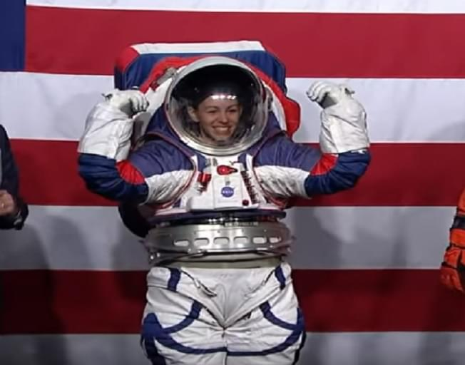 NASA Unveils New Spacesuits For 2024 Mission To The Moon