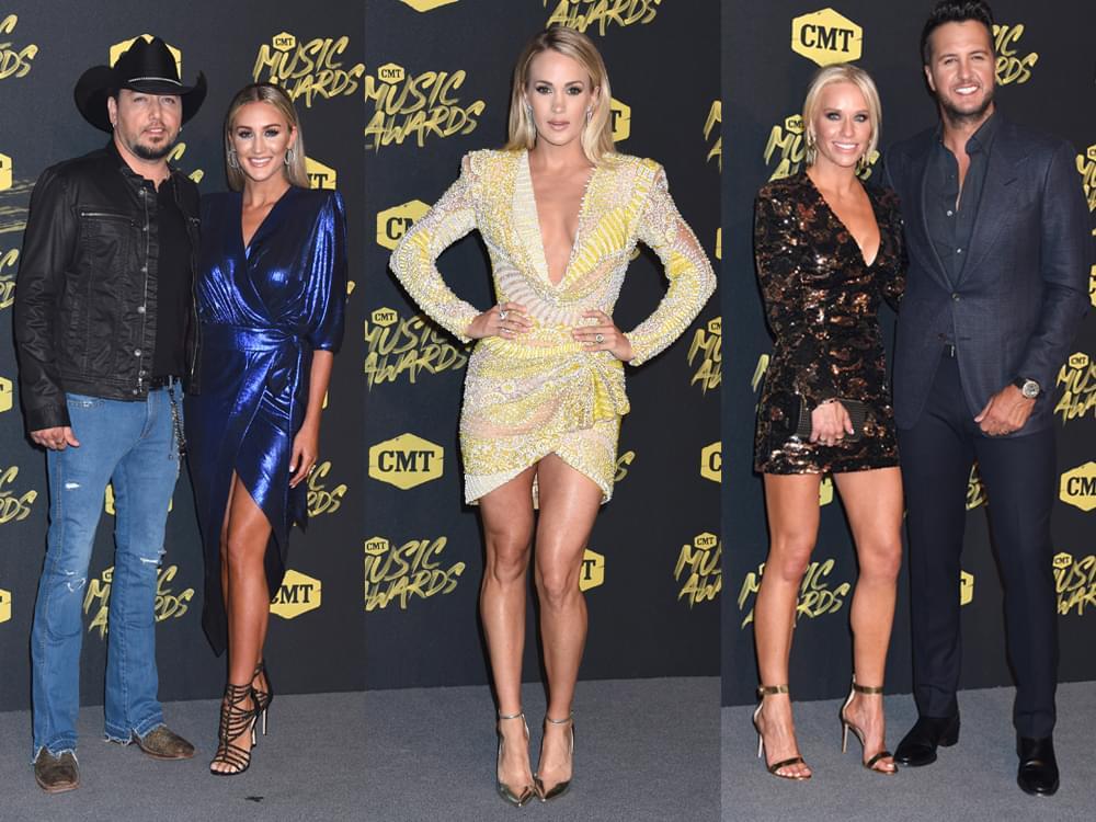 Nominations Revealed for 2019 CMT Music Awards, Including Carrie, Miranda, Luke, Jason, Kacey, Kelsea & More