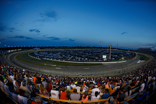 NASCAR Releasing the Horses Saturday Night at Kentucky in the Quaker State 400