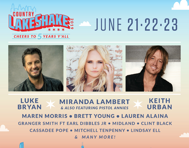 Win Tickets To See Luke Bryan At Country Lakeshake Festival