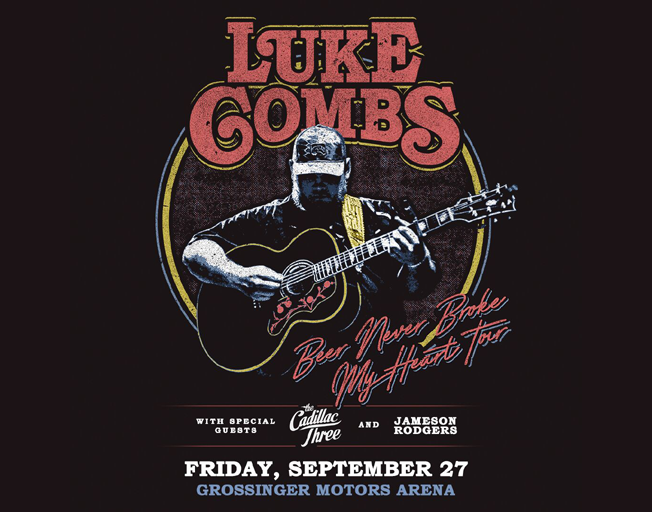 Win Tickets To Luke Combs SOLD OUT Show In Bloomington