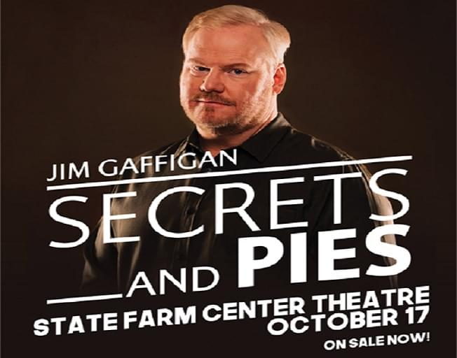 Win Tickets To Jim Gaffigan With Faith & Hunter