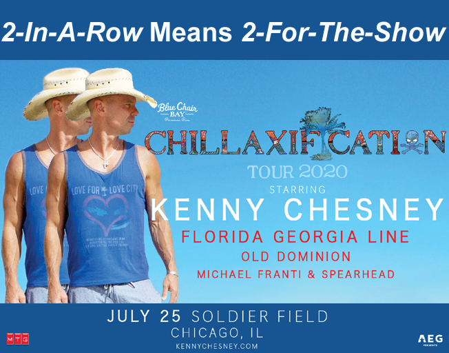 Win Kenny Chesney Tickets Before You Can Buy 'Em!