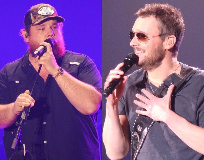 Luke Combs Reveals a Collaboration with Eric Church on New Album