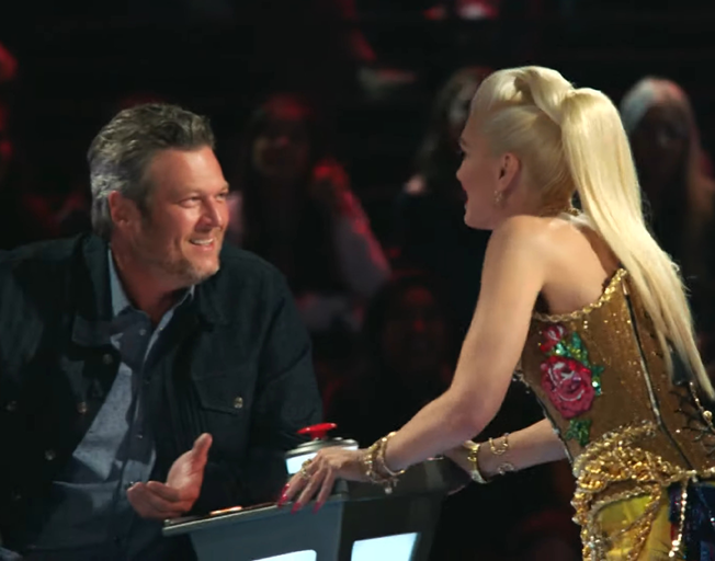 How are Blake Shelton and Gwen Stefani Interacting on 'The Voice'? [VIDEO]