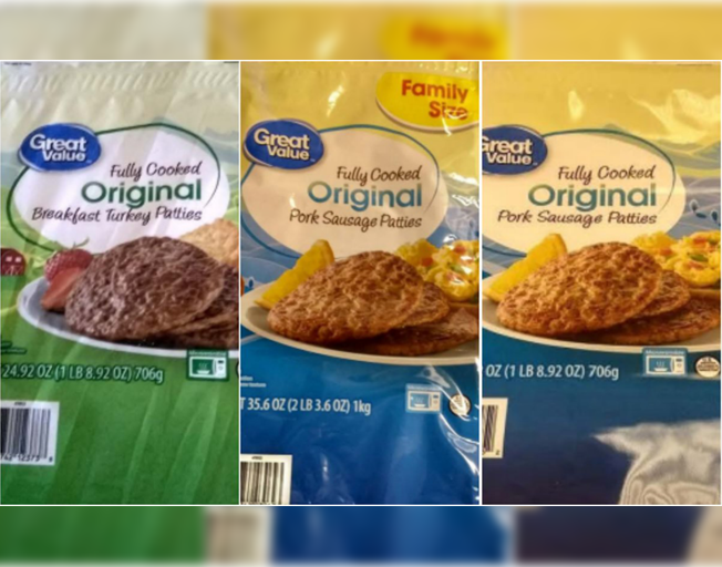 More than 6,000 pounds of Frozen Meat Sold at Walmart Recalled for possible Salmonella contamination