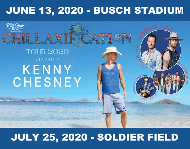 Kenny Chesney Announces 'Chillaxification' Tour With Florida Georgia Line