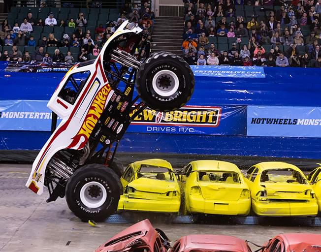 THIS WEEKEND Hot Wheels Monster Trucks Live at the Grossinger Motors Arena