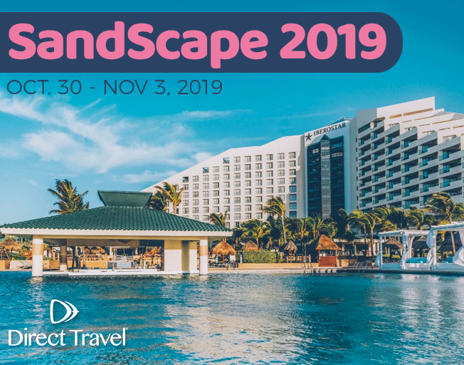 """""""SandScape 2019"""" to Cancun with Direct Travel"""