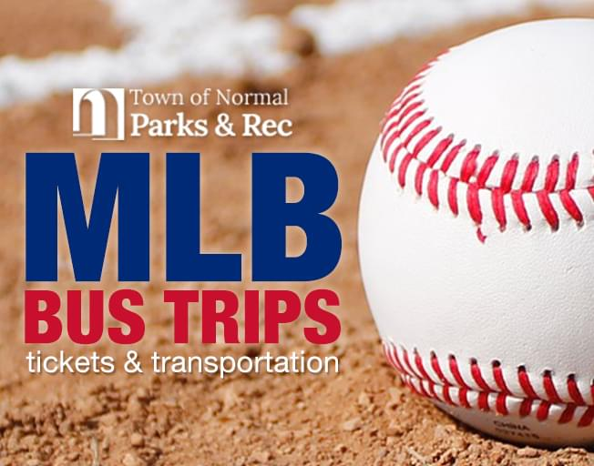 2019 Normal Parks and Recreation MLB Bus Trips