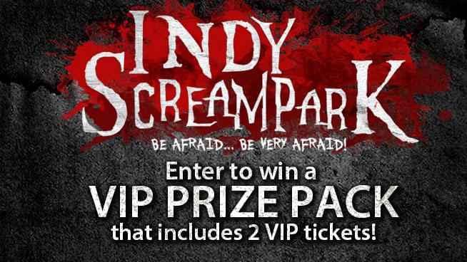 Indy Scream Park VIP Sweepstakes