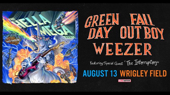 August 13 – Hella Mega Tour