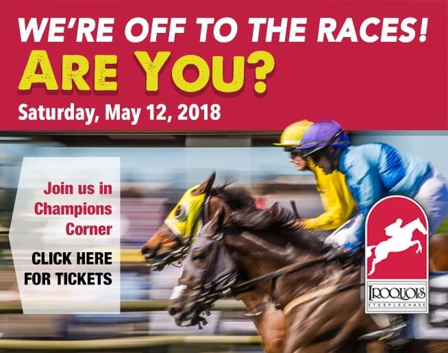 Join Us in Champions Corner at Iroquois Steeplechase!