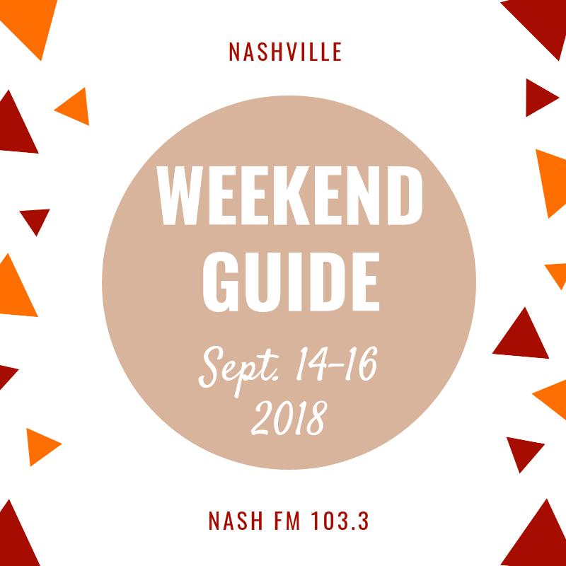 Weekend Guide: September 14-15