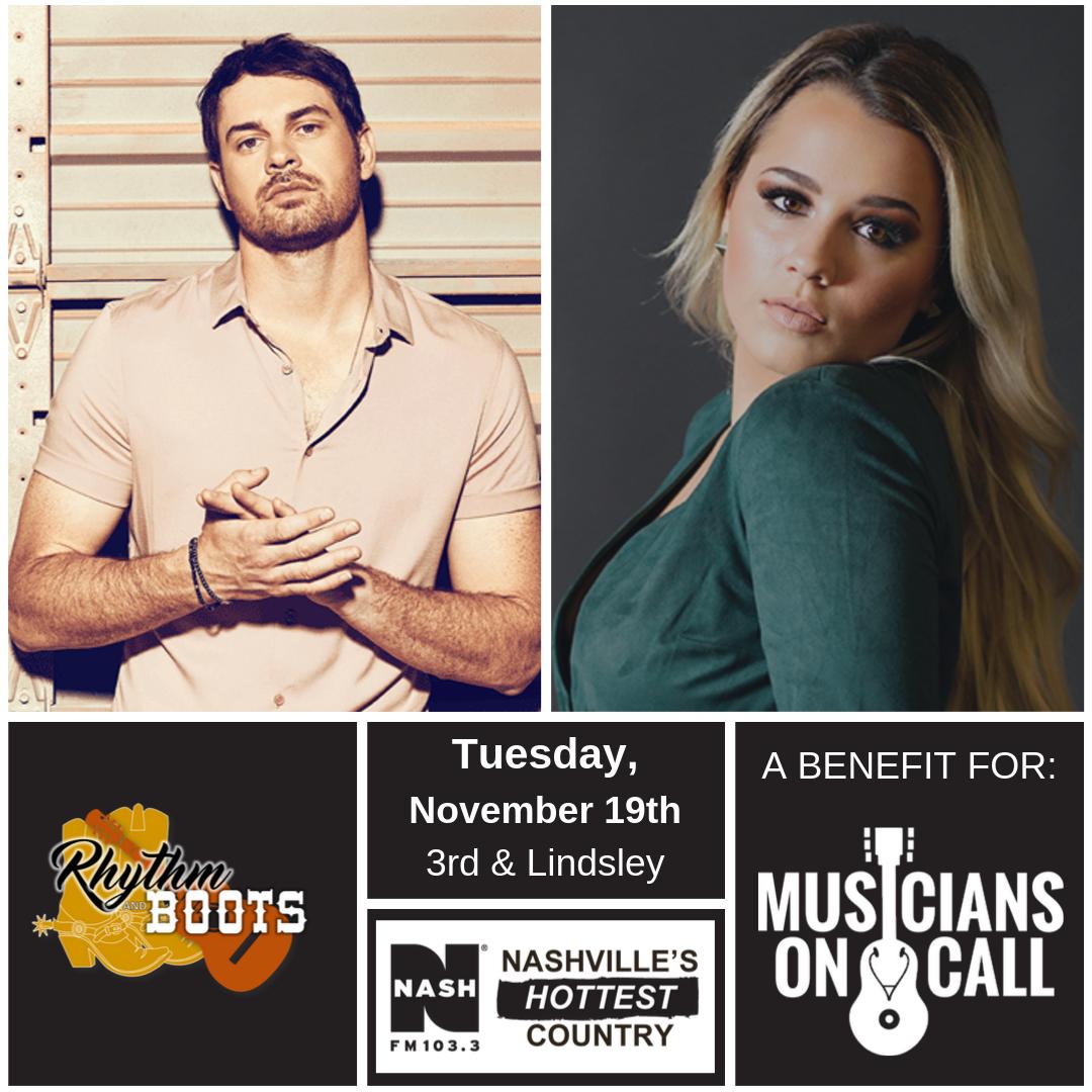 Rhythm & Boots with Matt Stell – 11/19