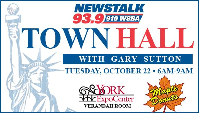Join us for a Town Hall with Gary Sutton on October 22nd from 6am-9am