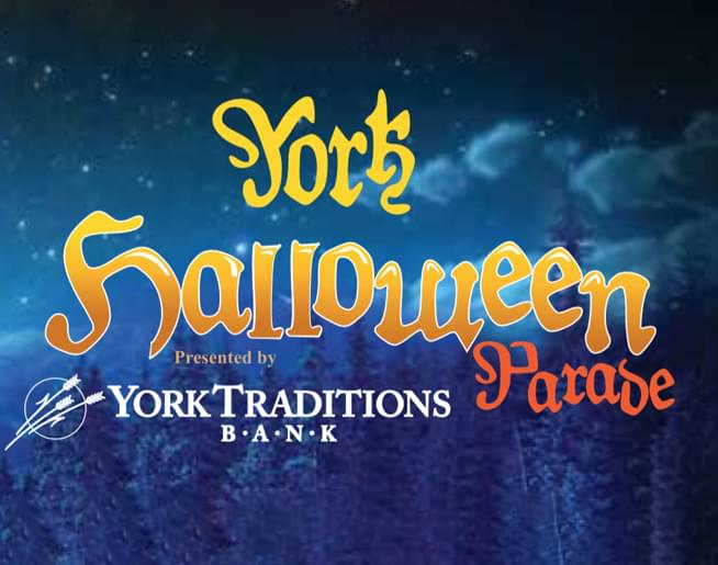 Join us Sunday, October 27th for the York Halloween Parade