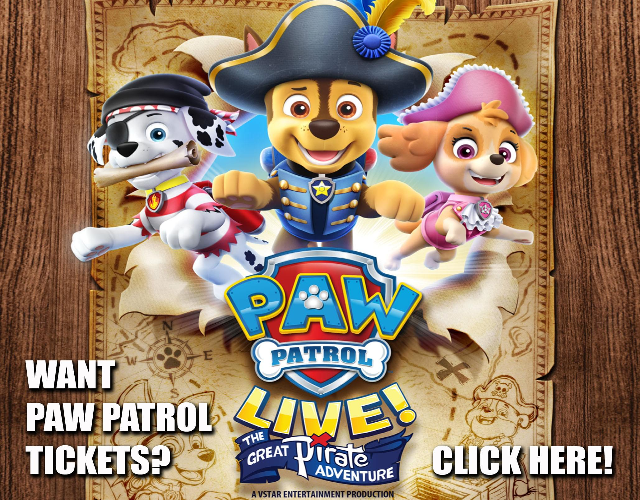 Win a Family 4-Pack to Paw Patrol Live!