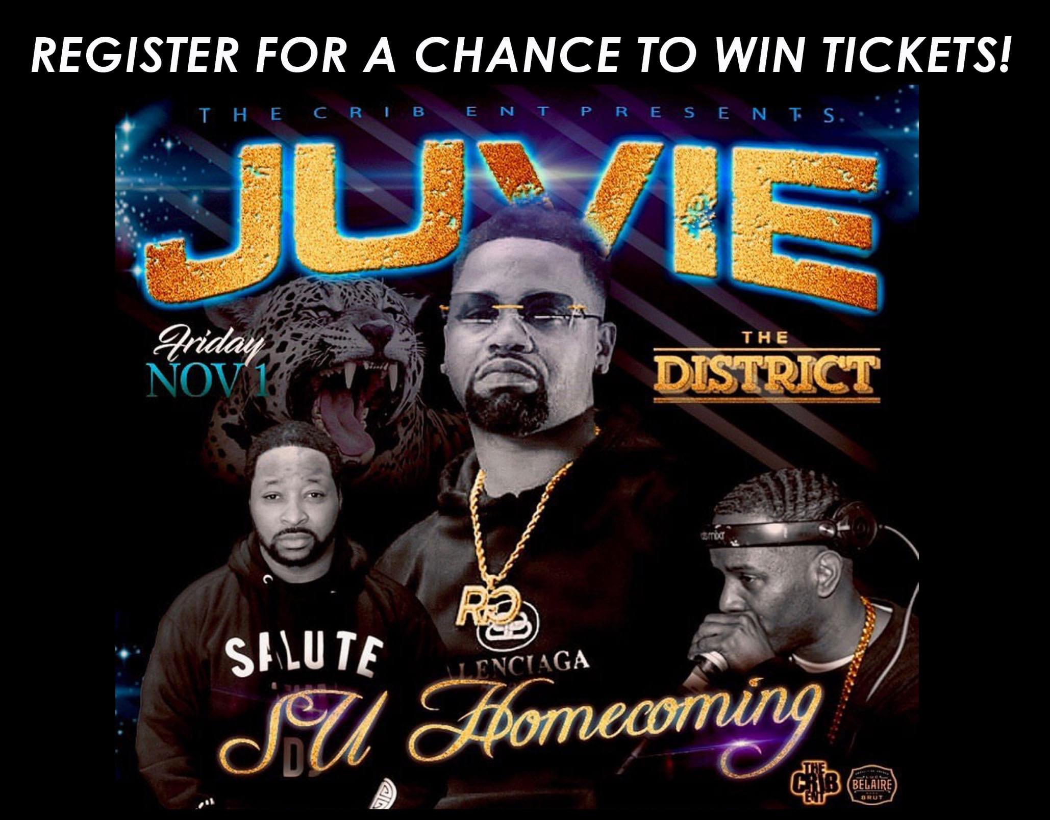 Register to Win Juvenile Tickets