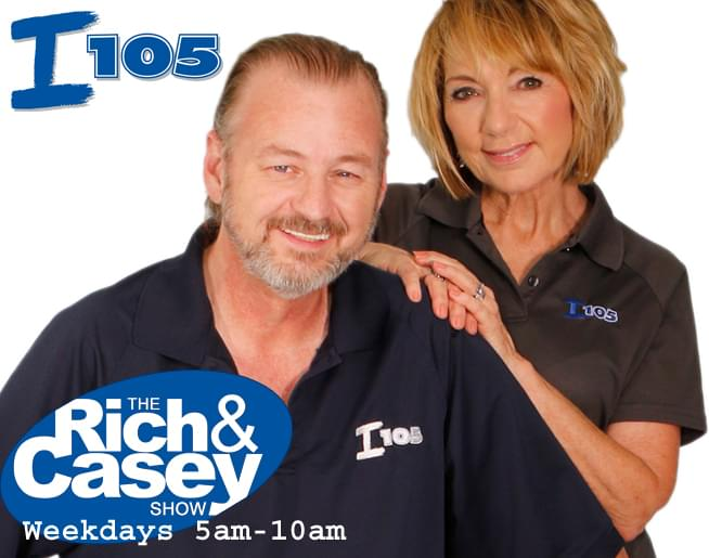 The Rich & Casey Show – Mornings on I105