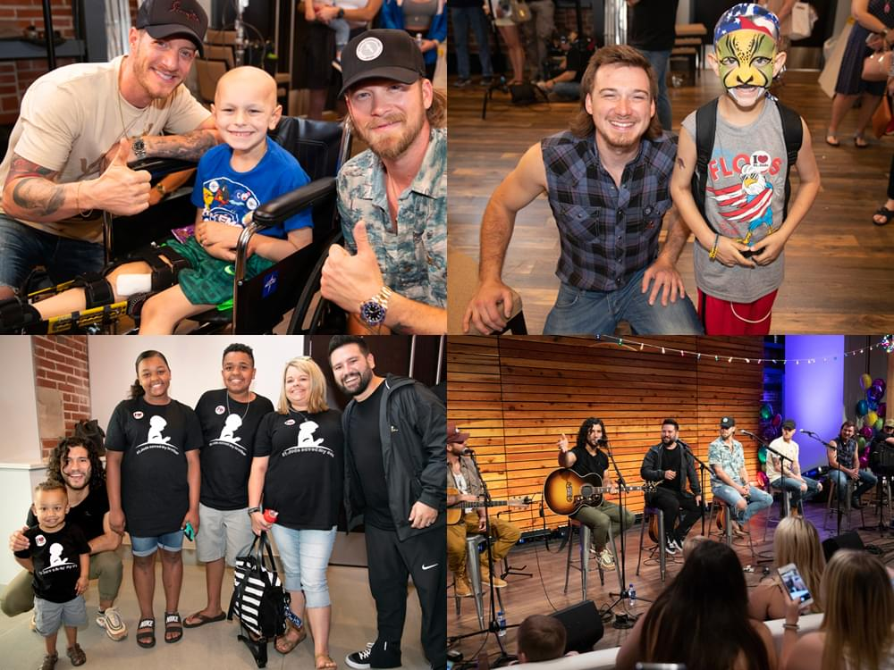 """FGL Brings Their """"Can't Say I Ain't Country Tour"""" to St. Jude Children's Hospital for Surprise Show With Dan + Shay, Morgan Wallen & More"""