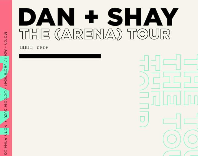 Dan + Shay at the GIANT Center on October 11, 2020