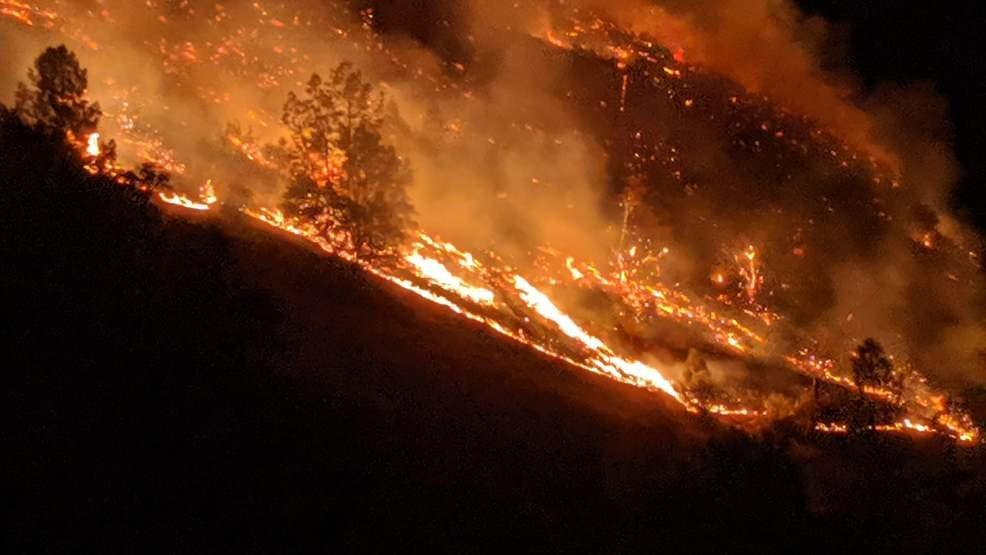 Briceburg Fire Grows to 4,900 Acres