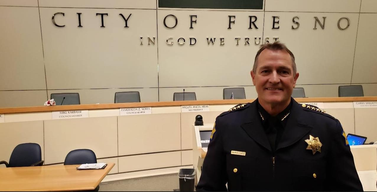 Fresno's New Police Chief Andy Hall Takes the Reins