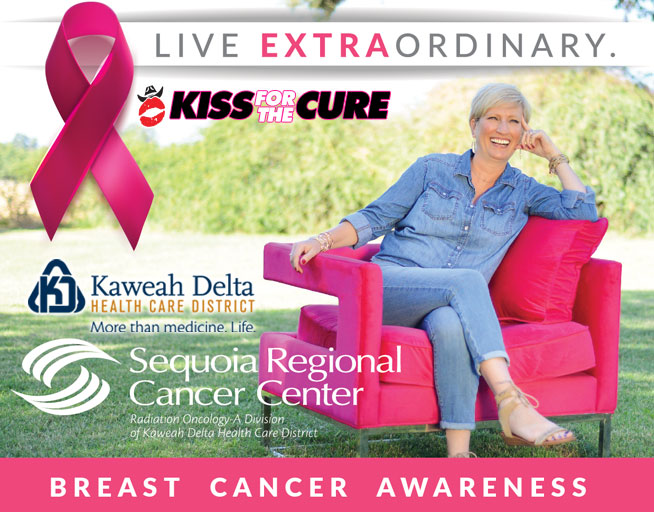 Kiss for the Cure: October 2017