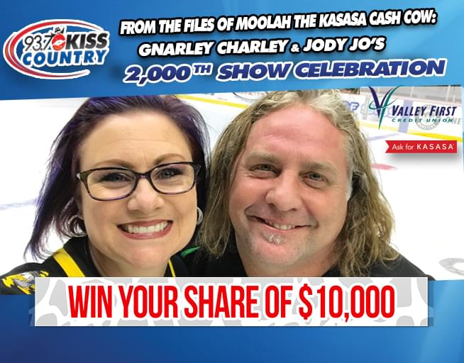 Gnarley Charley and Jody Jo's 2,000th Show Celebration Contest Rules